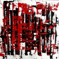 schwarz rot (bau) 04 - Acryl auf Leinwand