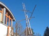 Windpipe, Edelstahl, 640 cm x480 cm x 46 cm